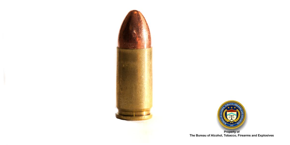 Picture of 9 mm Bullet
