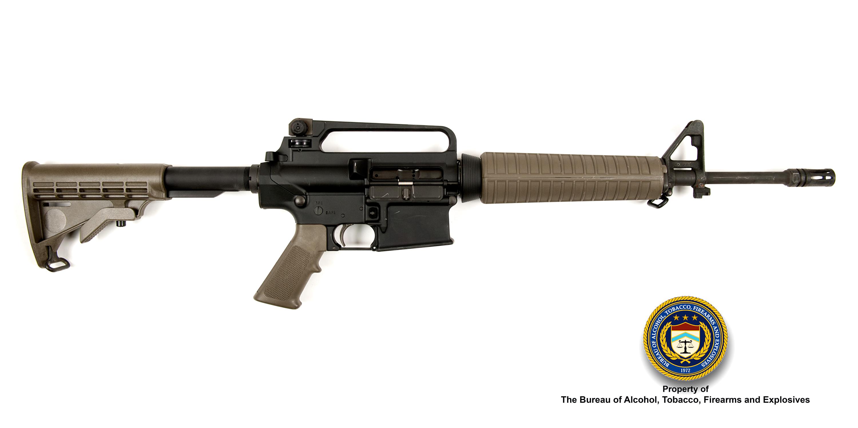Picture of Armalite AR10: Make: Armalite Model: AR-10 Caliber: 7.62mm