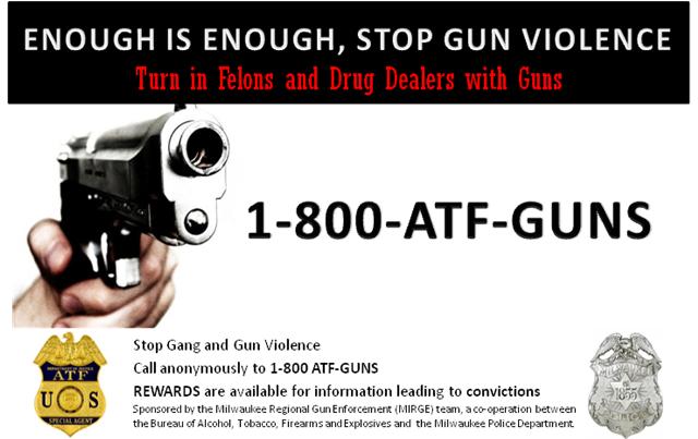 ATF PR Targeting Milwaukee Area Gun Crime
