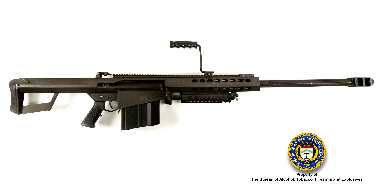 Picture of Barrett M82: Make: Barrett Model: M82 Caliber: .50 BMG
