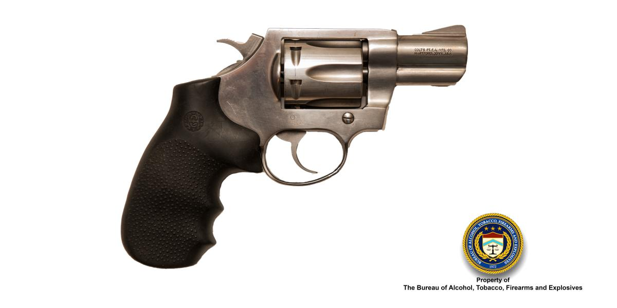 Picture of a Colt Mag Carry. Caliber: .357 Cal. (Magnum)