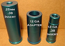 Image of flare launcher inserts