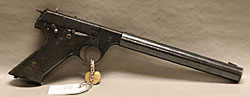 Image of a High Standard HD Mil. 22cal with silencer