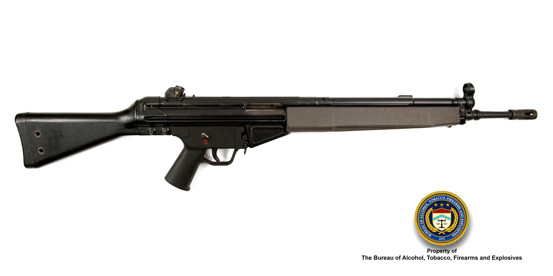 Picture of H&K G3FS: Make: Heckler and Koch Model: G3FS Caliber: 7.62x51mm
