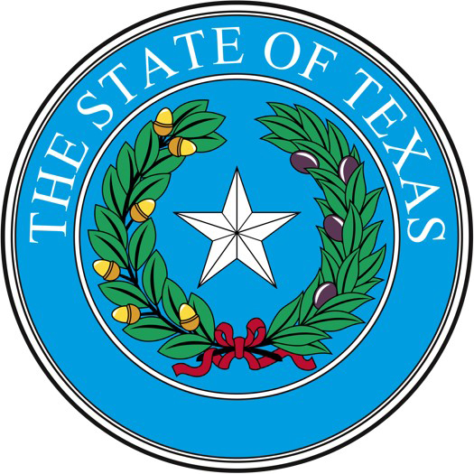 State Seals of Texas