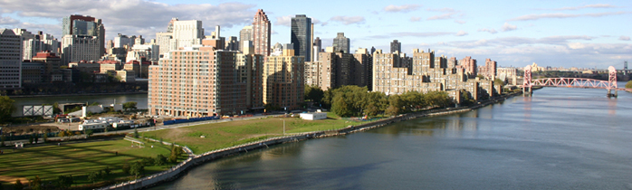 Image of New York City from the Hudson River