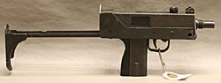 Image of an Ingram M-1O, .45cal. Machine Gun