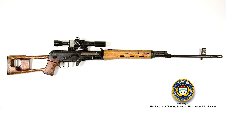 Picture of Izhevsk SVD: Make: Izhevsk Model: SVD Caliber: 7.62x54mm