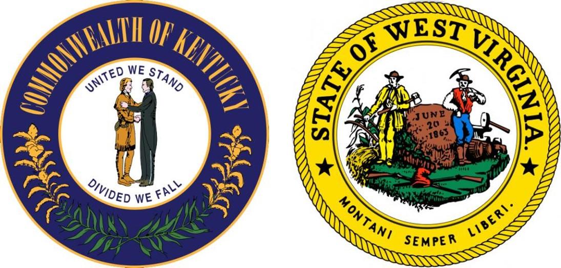 Louisville Field Division State Seals