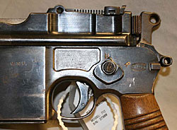 Image of Mauser Machine Pistol .30cal Selector