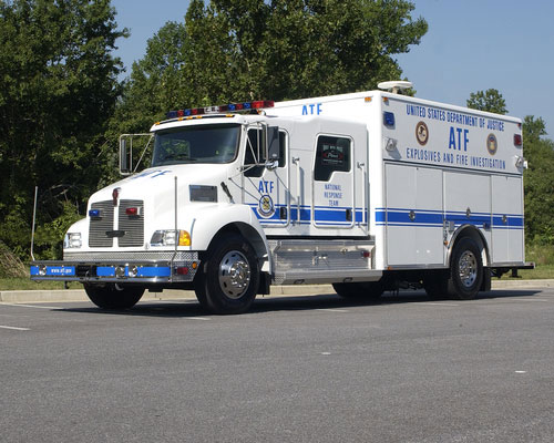National Response Team Truck