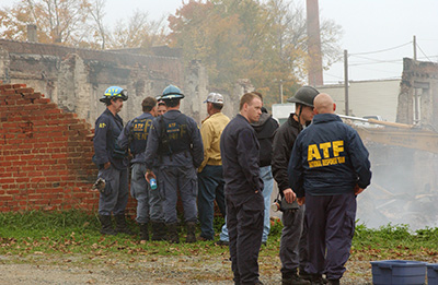 Picture 9 of ATF National Response Team working an Investigation in an Undisclosed Area
