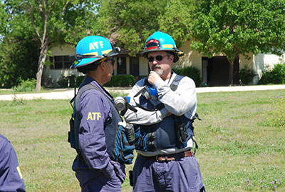 Picture 2 of ATF National Response Team working an Investigation in West Texas