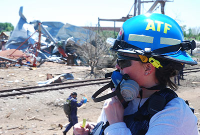 Picture 7 of ATF National Response Team working an Investigation in West Texas