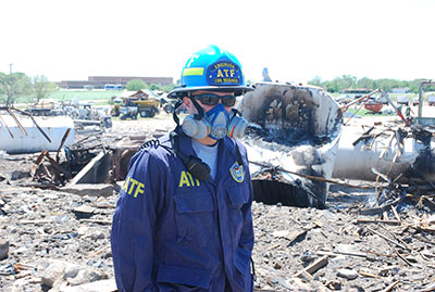 Picture 9 of ATF National Response Team working an Investigation in West Texas