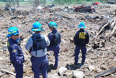 Picture 11 of ATF National Response Team working an Investigation in West Texas