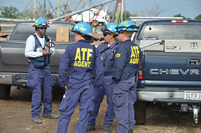 Picture 13 of ATF National Response Team working an Investigation in West Texas