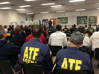 Picture 16 of ATF National Response Team working an Investigation in West Texas