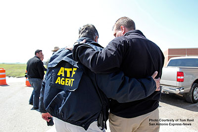 Picture 20 of ATF National Response Team working an Investigation in West Texas