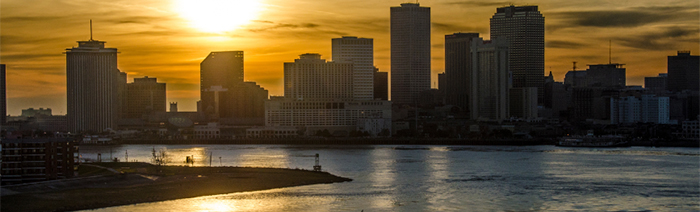 Image of New Orleans skyline