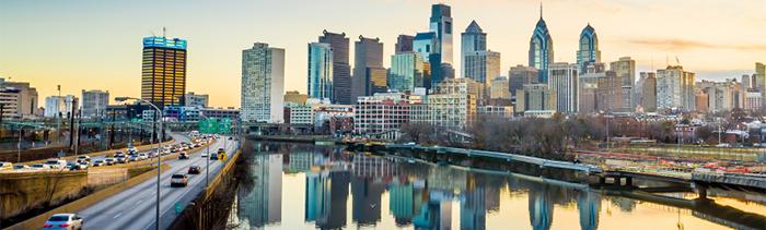 Image of Philadelphia's skyline