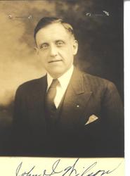 Image of Special Agent John Irwin Wilson