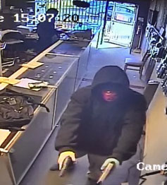 Second image from camera showing KSE robbery