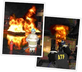 Two Historical Images of ATF Firefighters