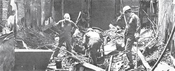 Images of 1979 Arson Investigation