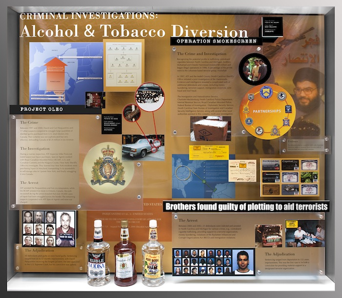 a history of alcohol and tobacco use