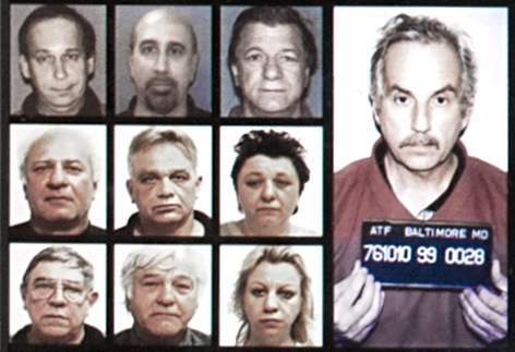 Arrest Image of David and Carl Pasquantino and 7 other co-conspirators.