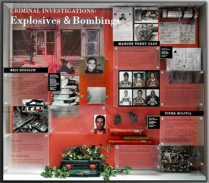 A Collage of Explosive & Bombing Criminal Investigations