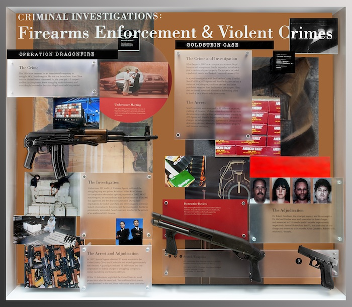 Image of Firearms Enforcement Historic Cases