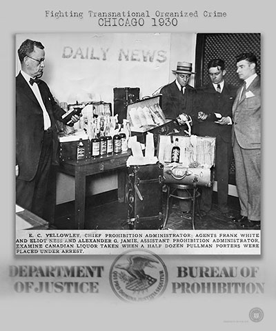 Image of a 1930 ATF Prohibition bust