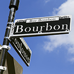 Image of the Bourbon Street Sign