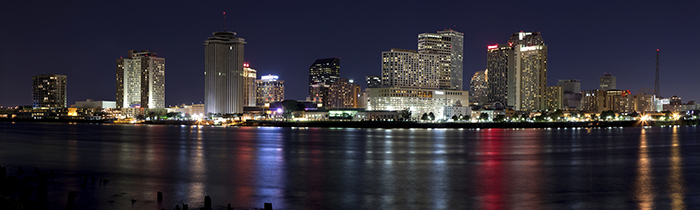 Image of the New Orleans skyline
