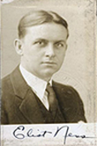 Image of Eliot Ness and his signature.
