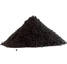 Image of a pile of black powder