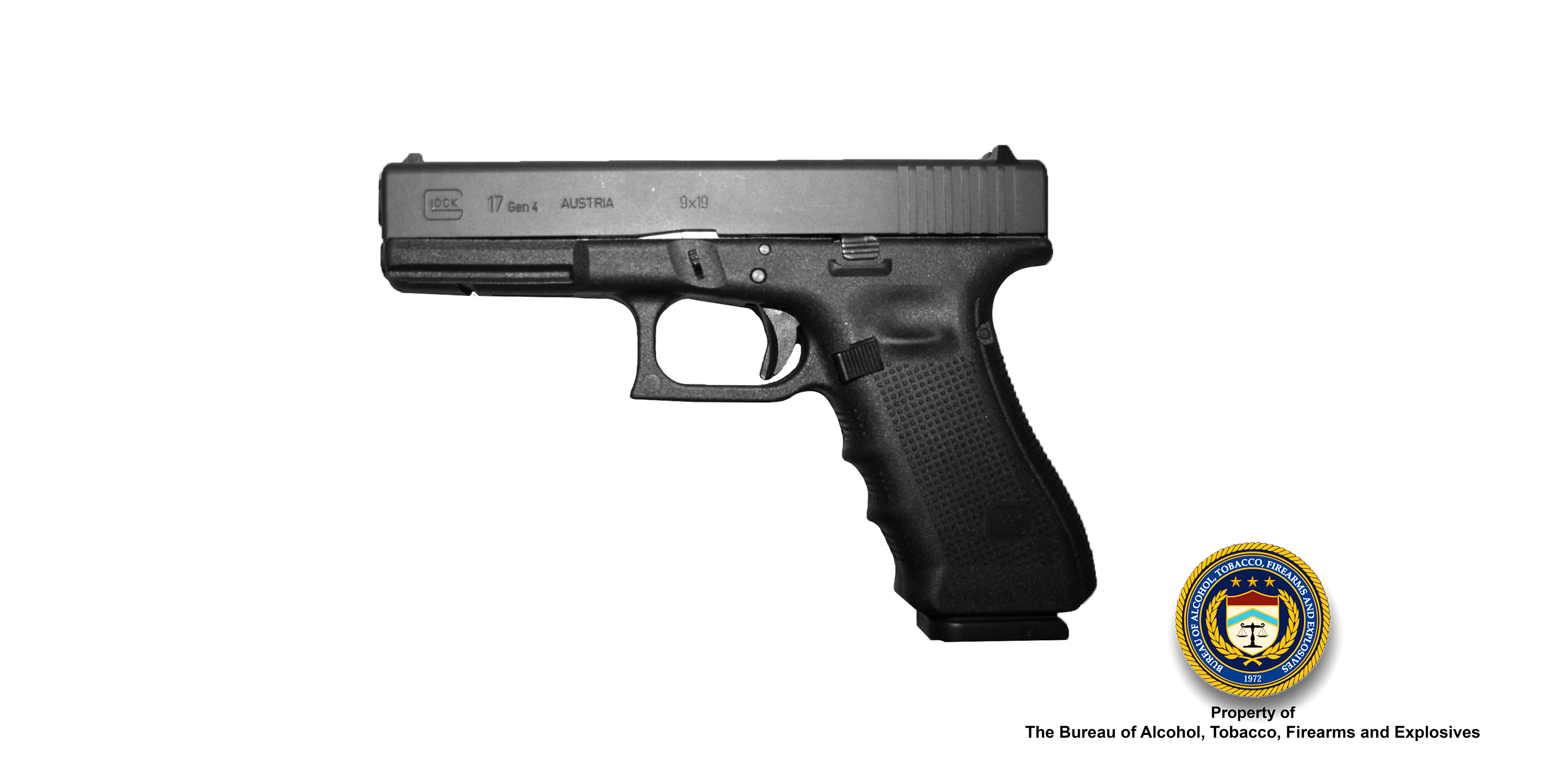 An image of a Glock Model 17 Semi-Automatic Pistol