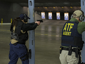 Image of students at ATF's National Academy