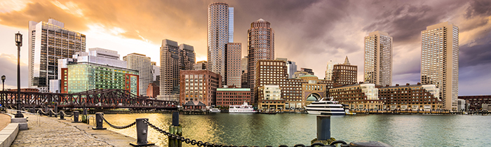 Image of the Boston skyline