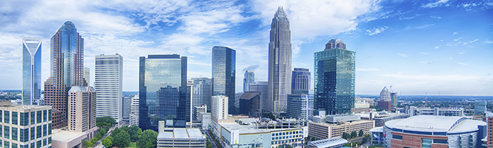 Image of the Charlotte North Carolina skyline
