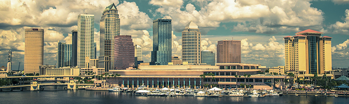 Image of the Tampa Florida skyline