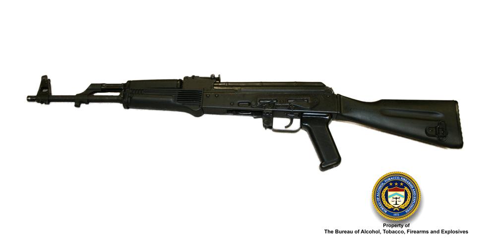 Image of Russian Saiga Semi-Automatic rifle