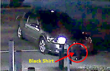 Image of the suspect's vehicle.