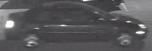 Image of the suspects' vehicle