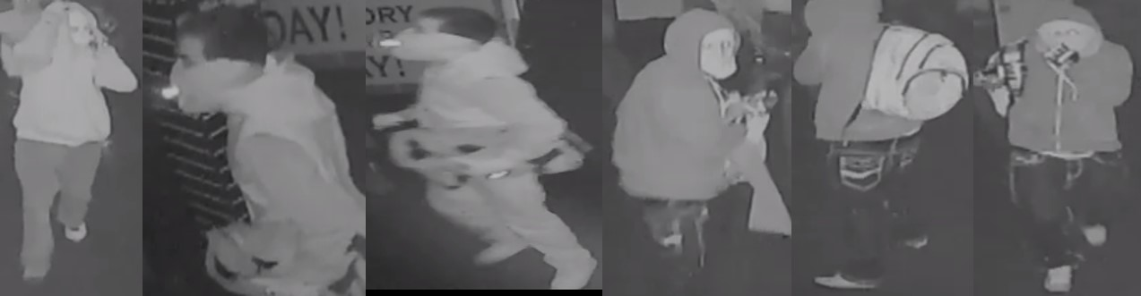Image of three suspects
