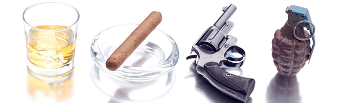Image of alcohol, tobacco, firearms and explosive