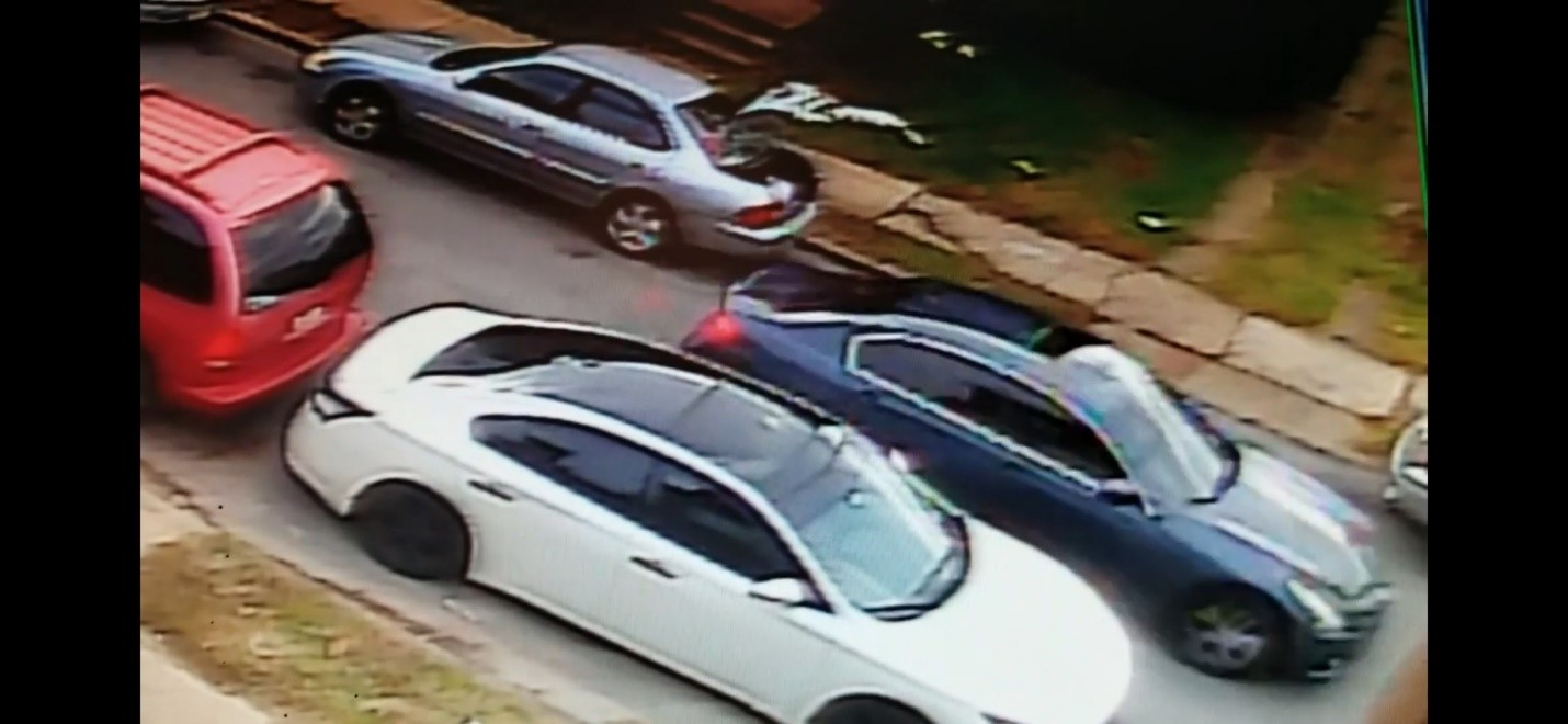 Vehicle of Violent Home Invasion Suspects