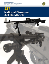 Cover of National Firearms Act Handbook